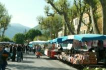 Marché d'Annot