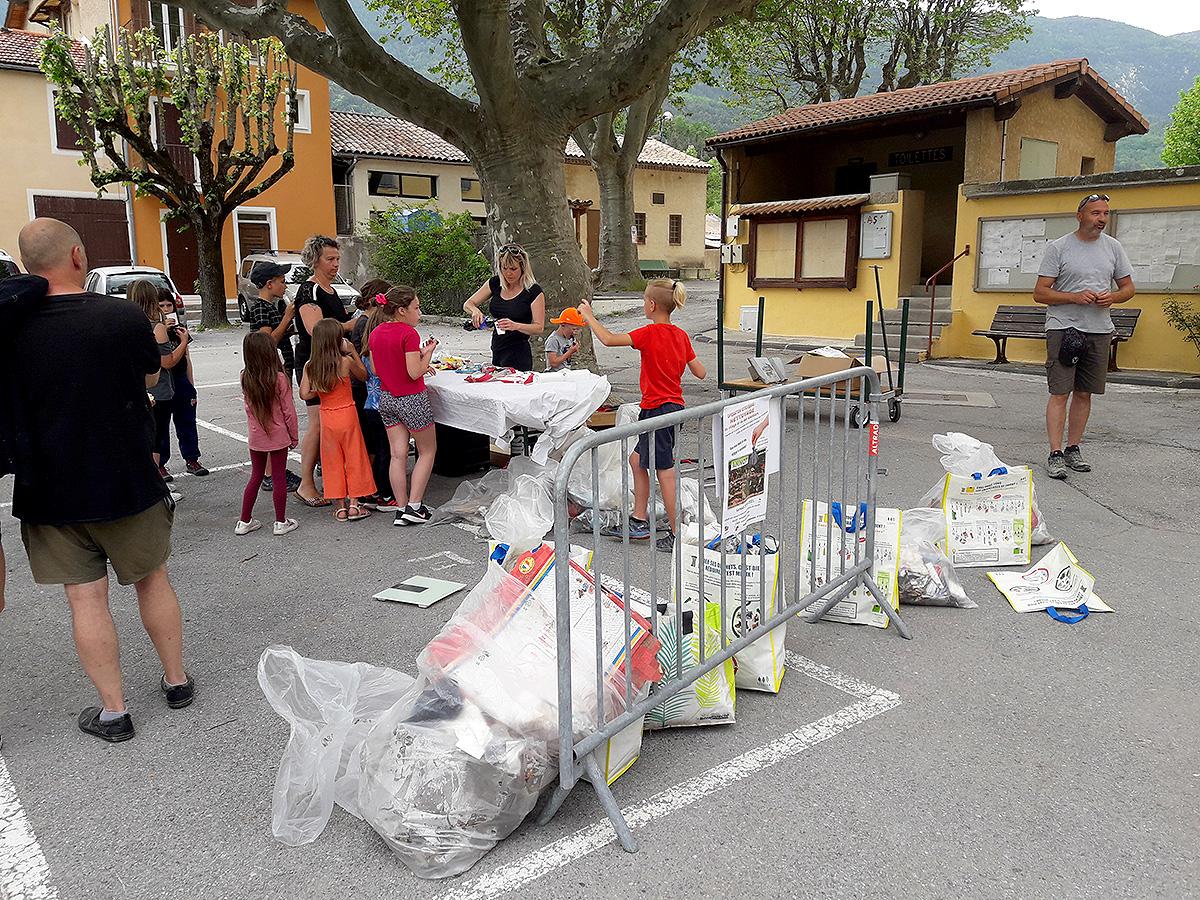 Opération citoyenne de ramassage des déchets