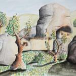 R8 – Grès d'Annot – Grès et habitat