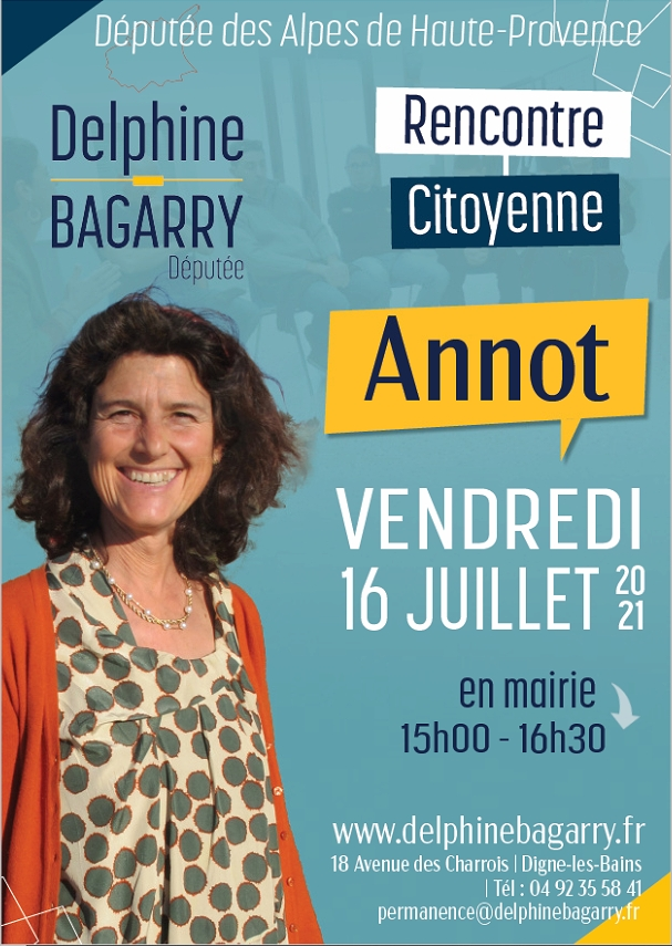 Rencontre citoyenne avec Delphine BAGARRY